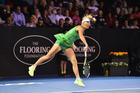 Caroline Wozniacki is the big star still left standing at the ASB Classic. Photosport