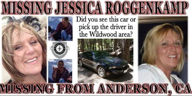 Missing note for Jessica Roggenkamp. Photo / Facebook