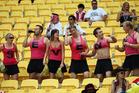 Sevens fans - your tournament needs you. Photo / Dave Lintott Photosport