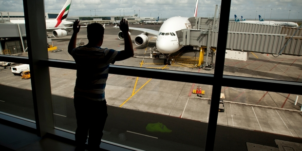 The first day of trading in the new year was a good one for Auckland International Airport as it rose 3.5 per cent.