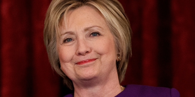 Hillary Clinton is not rejecting the idea of running. Photo / AP