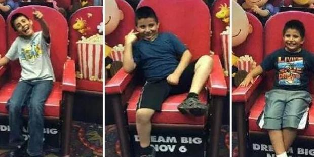 Three young brothers were gassed to death in their Texas home. Photo / GoFundMe