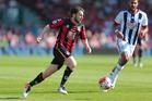 Bournemouth midfielder Harry Arter. Photo / AP