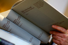 Hitler's Mein Kampf - A critical edition in a book store in Munich, Germany. Photo / AP