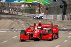 Scott Dixon has won two races this year including the Long Beach Grand Prix. Photo / Phillip Abbott/LAT for Chevy Rac