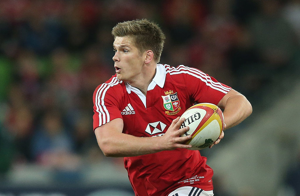 England back Owen Farrell will likely feature in the 2017 Lions series. Photo / Getty Images