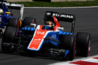 Pascal Wehrlein driving the (94) Manor Racing MRT-Mercedes. Photo / Getty Images