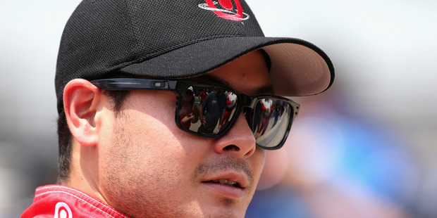 Kyle Larson will drive at Western Springs Speedway in Auckland tonight. Photo / Getty Images