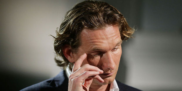 Former Essendon coach James Hird speaks for the first time about the Essendon doping scandal. Photo / Getty Images