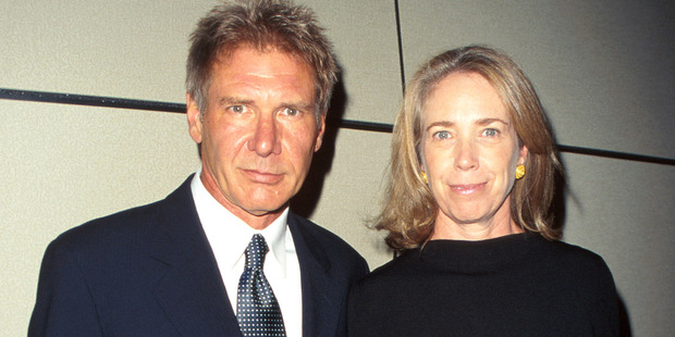 Actor Harrison Ford and Melissa Mathison. Photo / Getty Images