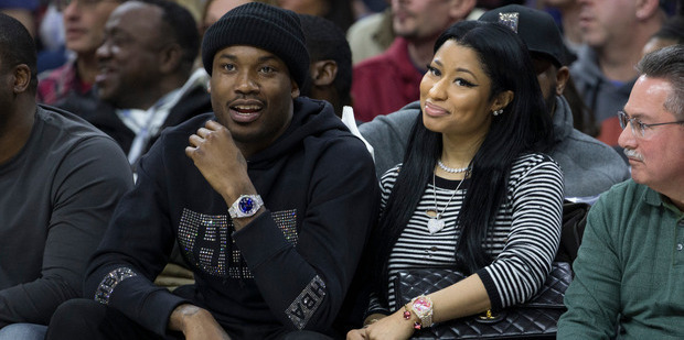 Meek Mill and Nicki Minaj are dating. Photo / Getty Images