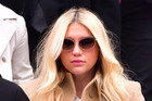 Kesha leaves the New York Supreme Court in February 2016 after suing her producer Dr Luke. Photo/Supplied.