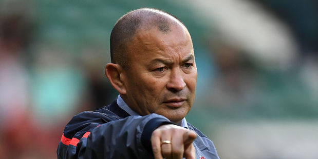 Eddie Jones found great success in his first season as England's head coach. Photo / Getty Images