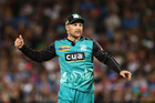 Brendon McCullum did not bowl, much to the pleasure of brother Nathan. Photo / Getty