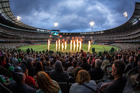 A general view is seen during the Big Bash League match between the Melbourne Stars and Melbourne Renegades at Melbourne Cricket Ground. Photo / Getty