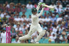 Peter Handscomb of Australia bats during the third test match between Australia and Pakistan. Photo / Getty Images