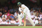 Azhar Ali of Pakistan bats during the third test between Australia and Pakistan at Sydney Cricket Ground. Photo/Getty Images