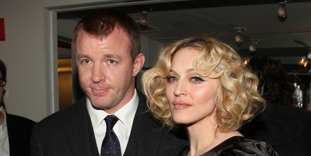 Guy Ritchie and Madonna pictured together in 2007. Photo / Getty Images