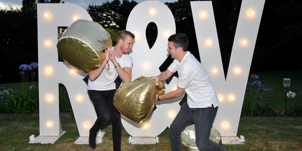 Drum and bass stars Wilkinson and NETSKY appeared at Rhythm and Vines. Gisborne Herald photo / Rebecca Grunwell