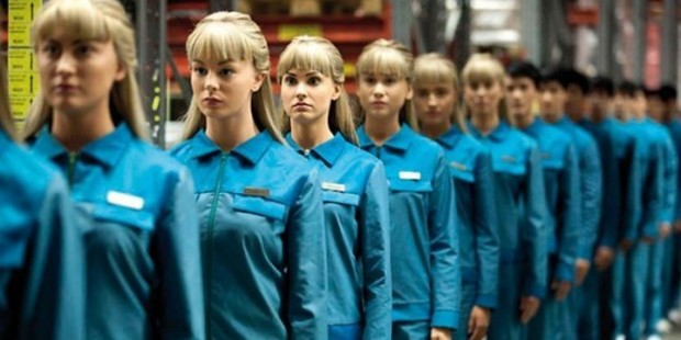 A scene from the television series, Humans.