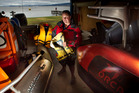 FUN: President of Coastguard Rotorua Barry Grouby says you can have fun and be safe at the same time. PHOTO/BEN FRASER