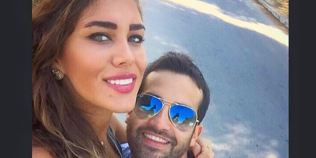 Loading Rita Chami and her fiance Elias Wardini. The two were killed in an attack in Istanbul on New Year's Day. Photo / Facebook