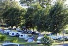 The alleged sex attack happened at the Showgrounds Campground on New Year's Day. Photo / Supplied