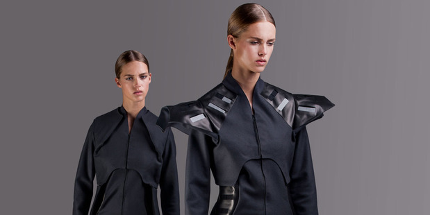 Essentially the idea turns jackets and bush-shirts into wearable, solar-powered batteries. Photo / Supplied
