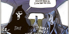 View: Cartoon: Death is calling