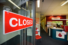 Tauranga Blood Service's Cameron Rd centre was discovered to be flooded when staff returned to work today after the New Year break. Photo/George Novak