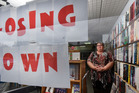 Owner Sharin Denfield in Tauranga Book Exchange which is closing down after many years in business. Photo/George Novak