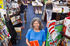 McLeod's Booksellers co-owner Lynne Jones. The local bookstore has had another great holiday period reflecting the lift in spending across the region. PHOTO/STEPHEN PARKER