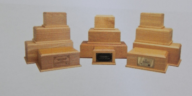 The stolen  box was similar to these. PHOTO/SUPPLIED