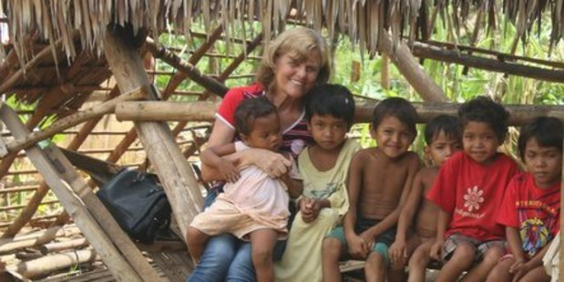 Pauline Curtis-Smith (Left) had been living in Calapan (about 60 miles from Manila) for over a decade after she set up Ruel Foundation. PHOTO/SUPPLIED