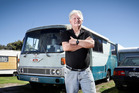 Graham Flett is yet to sell the Hino housebus that's been viewed 37,000 times. Photo / Andrew Warner