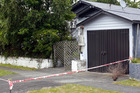 The scene of the fatal shooting in Whanganui. Photo / Natalie Sixtus