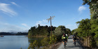 Near Opua on the Twin Coast Cycle Trail. Photo / The Kennett Bros