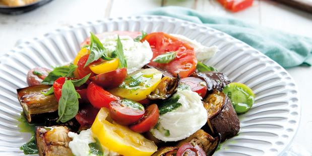 Mediterranean salad. Photo / Annabel Langbein media