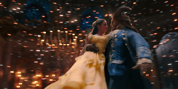 Emma Watson and Dan Stevens as the Beauty and the Beast. Photo/Supplied