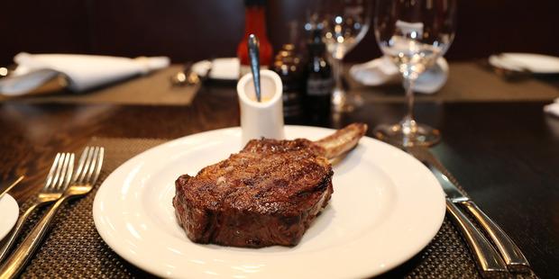 The Savannah angus rib eye steak. Photo / Getty Images