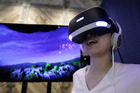 David Hall's social media post highlighted the struggles many studios face to make money as they develop for a relatively small number of users of the VR headset. Photo / AP