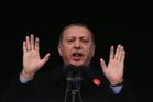Turkey's President Recep Tayyip Erdogan. Photo / AP