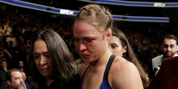 Amanda Nunes knew Ronda Rousey couldn't take her punches, confident Rousey retires