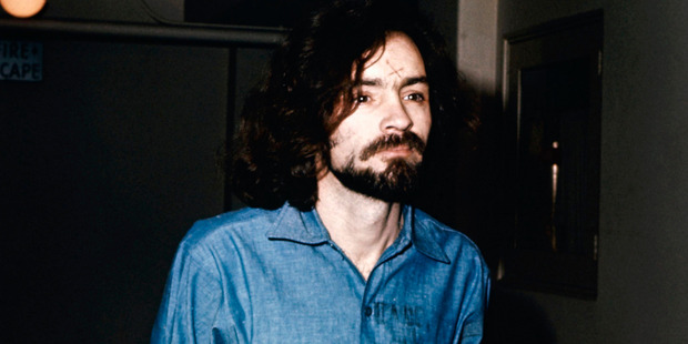 Loading Charles Manson during his trial in 1970. Photo / AP