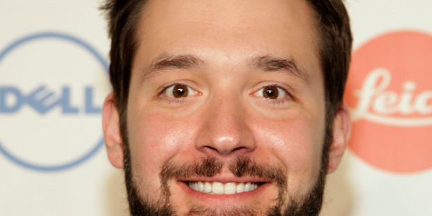 Hubby-to-be Alexis Ohanian. Photo / Andy Kropa