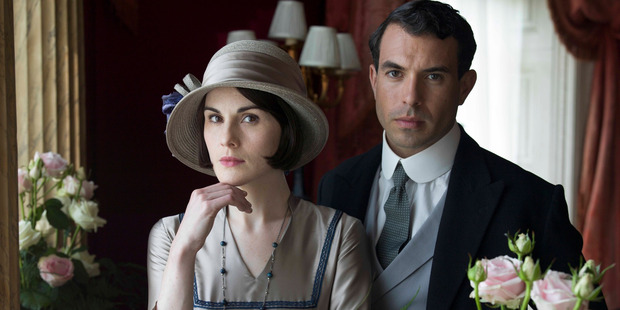 Scene from television series, Downtown Abbey.