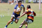 Bay of Plenty Blue men's team player Teddy Stanaway and his side made it to the Cup semi-finals at the Bay of Plenty Provincial Sevens Tournament. PHOTO/ FILE