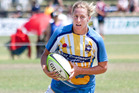 Black Ferns Sevens player Kelly Brazier, pictured in action at last year's Bay of Plenty Provincial Sevens Tournament, will be returning to represent the Bay of Plenty women's team. PHOTO/ FILE