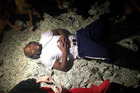 Photo posted to Instagram by Floyd Mayweather showing the boxer lying on a pile of money. Photo / Instagram