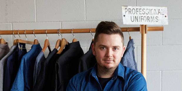 MN Uniform founder and designer Matt Nash. Picture / supplied.
